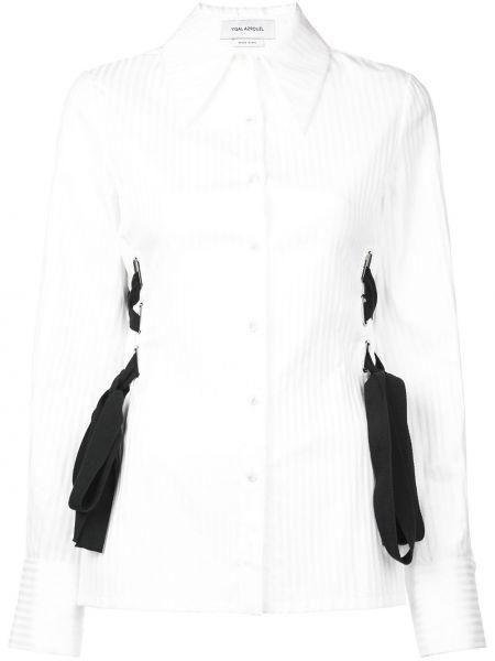 Блузка в полоску - белая Yigal AzrouËl