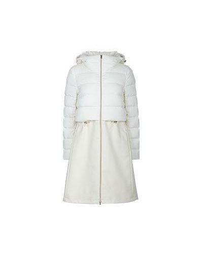 Куртка белая Herno