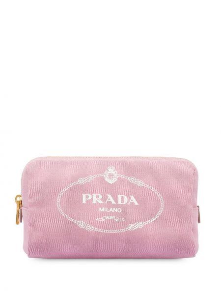 Sport torba z nadrukiem z logo Prada