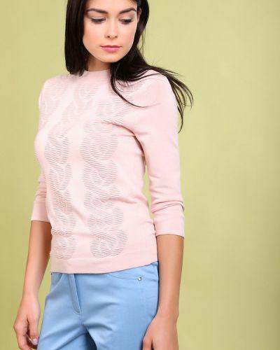 Пуловер в рубчик с рисунком Just Valeri