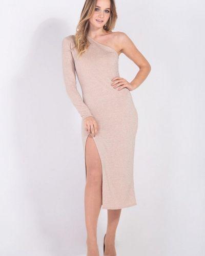 Вечернее платье золотое Bessa
