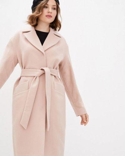 Розовое пальто Florens