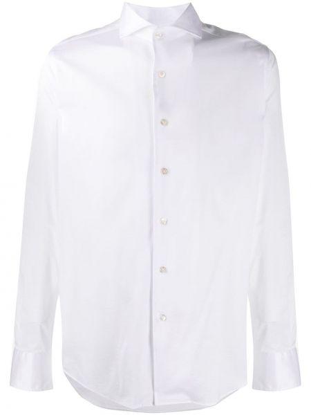 Koszula z długim rękawem długa z kołnierzem Canali