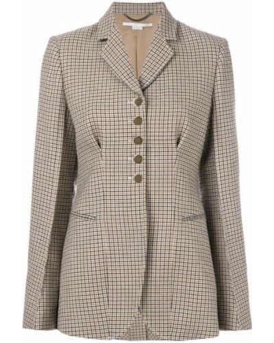 Пиджак приталенный шерстяной Stella Mccartney