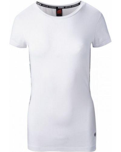 Белая футболка из эластана Iguana