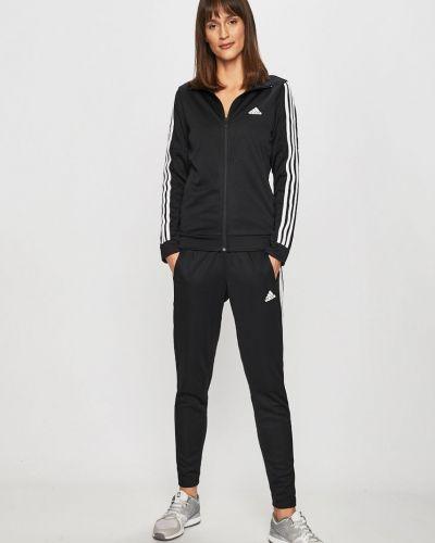 Bluza z kapturem z kieszeniami długo Adidas Performance
