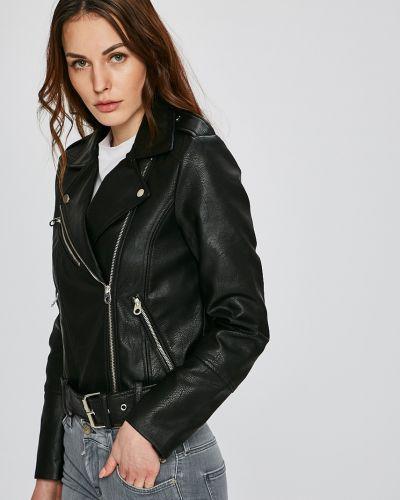 Кожаная куртка облегченная с карманами Vero Moda