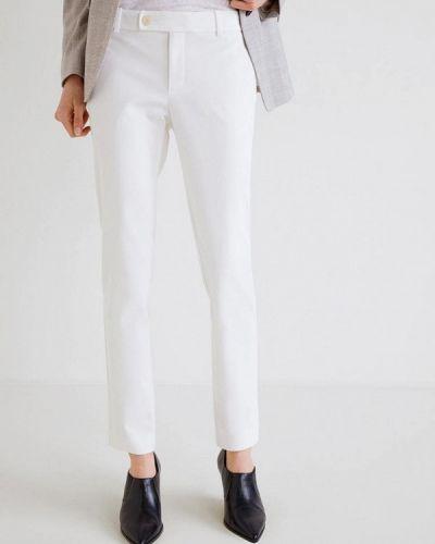 Белые брюки Mango