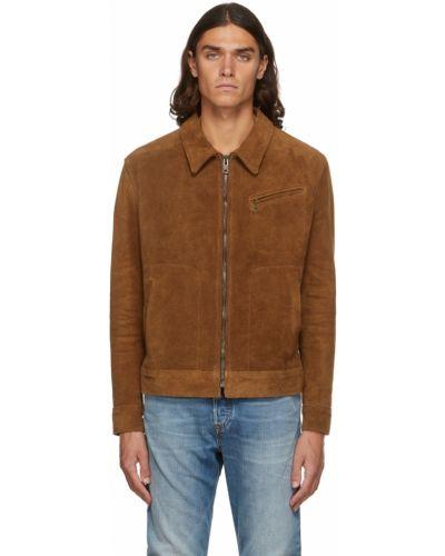 Замшевая куртка Schott