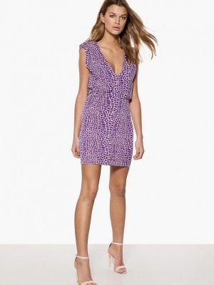 Платье прямое фиолетовый Ivyrevel