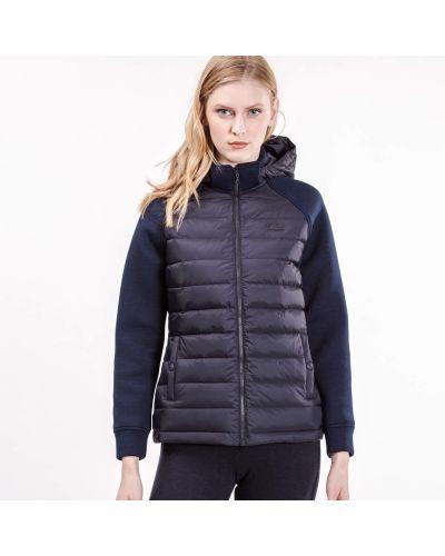 Куртка черная синий Lacoste