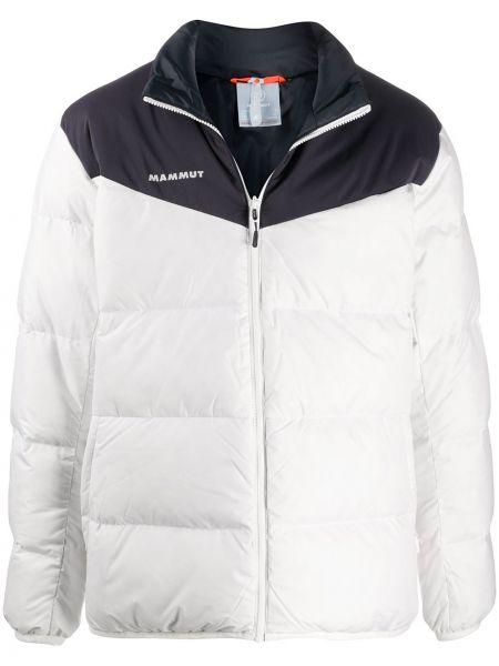 Пуховая куртка - белая Mammut