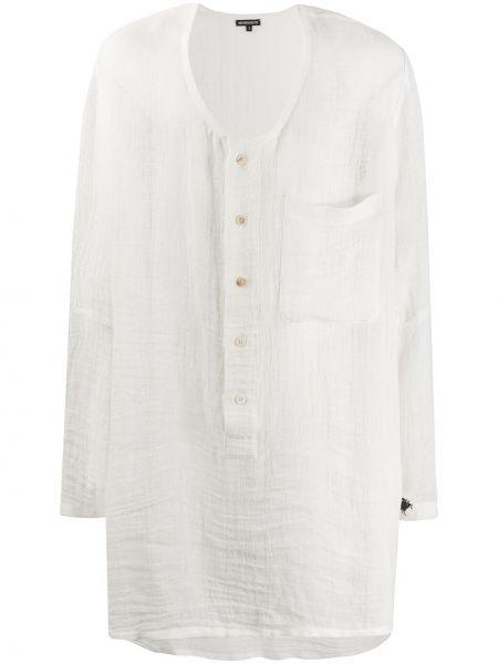Koszula z długim rękawem z kieszeniami długa Ann Demeulemeester