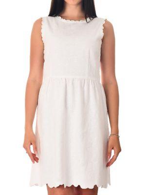 Хлопковое платье - белое Iblues