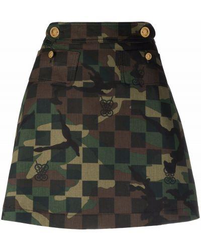 Czarna spódnica bawełniana Giambattista Valli