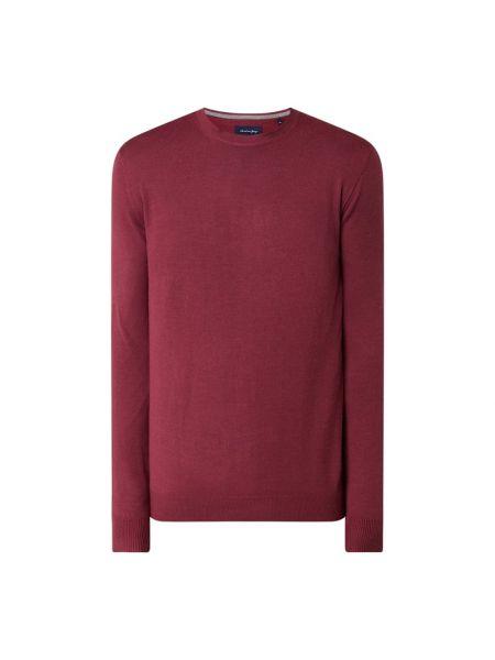 Różowy sweter wełniany Christian Berg Men