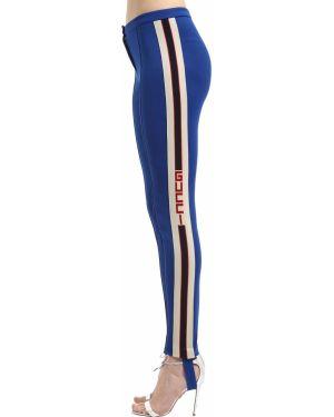 Legginsy - niebieskie Gucci