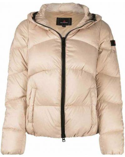 Beżowy płaszcz Peuterey