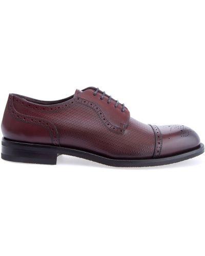 Кожаные ботинки броги итальянский Canali