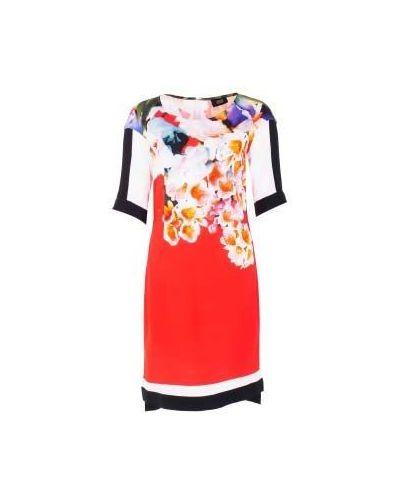 Повседневное вечернее платье - красное Class Cavalli