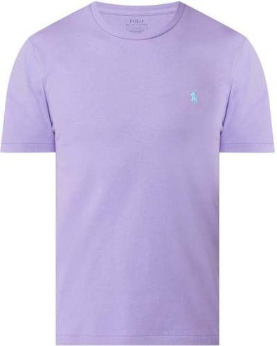 Fioletowy t-shirt bawełniany Polo Ralph Lauren