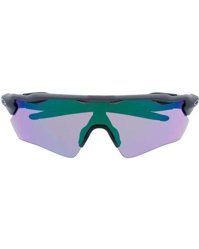 Солнцезащитные очки с логотипом - серые Oakley