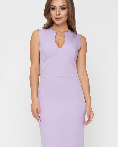 Летнее платье весеннее фиолетовый Sellin