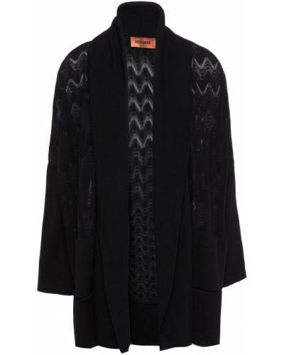 Шерстяной кардиган - черный Missoni