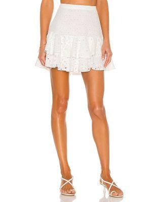 Bawełna bawełna spódnica mini z haftem Charo Ruiz Ibiza