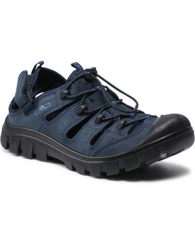 Sandały skórzane - szare Cmp