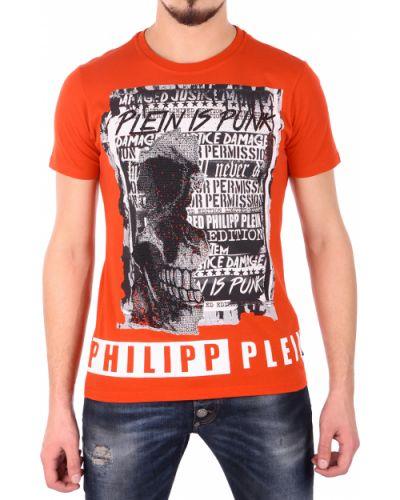 Красная футболка Philipp Plein