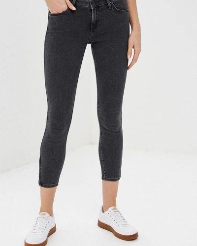Черные джинсы-скинни Lee