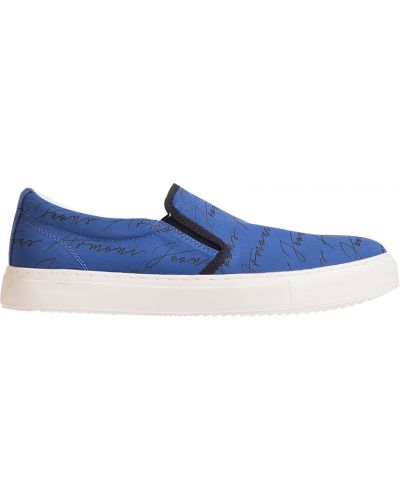 Синие слипоны Armani Jeans