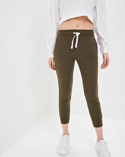 Спортивные брюки зеленый хаки Jennyfer