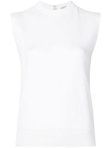 Biała koszulka bez rękawów Mrz