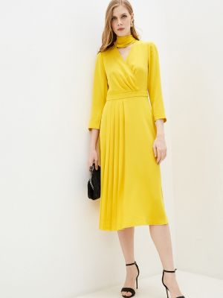 Желтое платье Ted Baker London