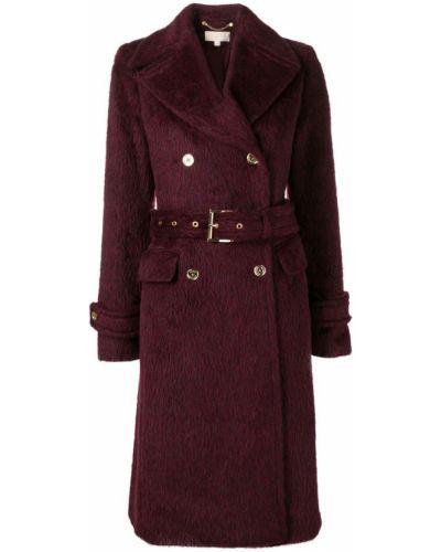 Пальто с капюшоном на пуговицах Michael Kors Collection