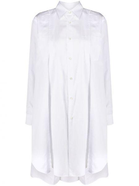 Хлопковая белая рубашка с длинными рукавами Comme Des Garçons Comme Des Garçons