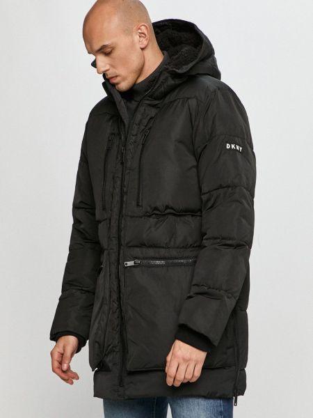 Прямая куртка с капюшоном Dkny