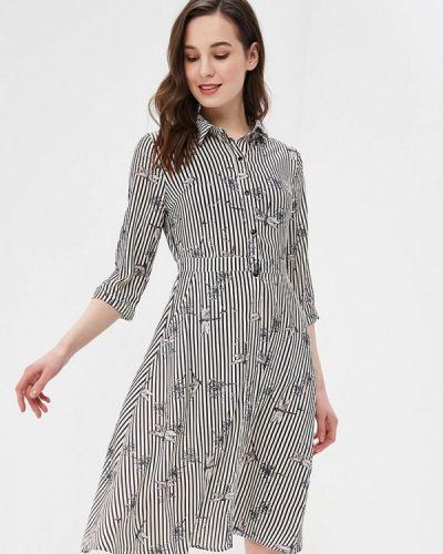 Платье - серое Zeza