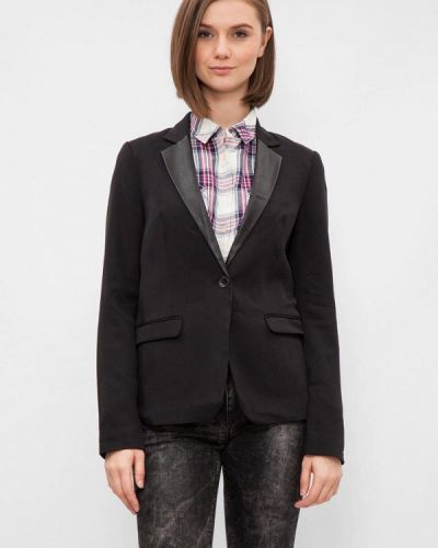 Черный пиджак Tommy Hilfiger