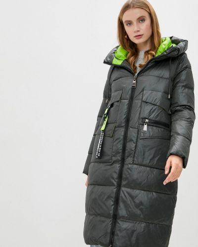 Зеленая утепленная куртка Winterra