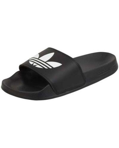 Klapki - czarne Adidas Originals
