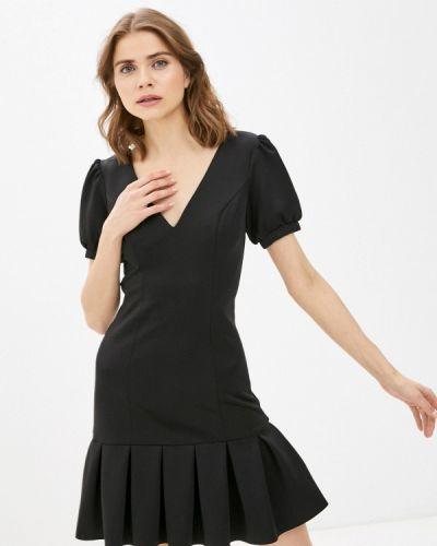 Черное вечернее платье Chi Chi London