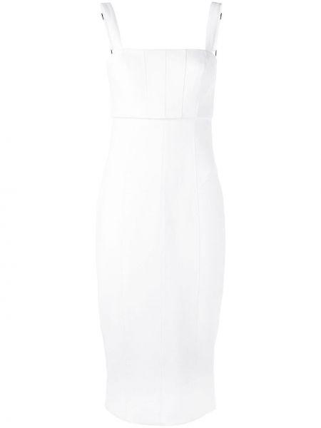 Приталенное платье на бретелях на молнии с вырезом Cinq À Sept