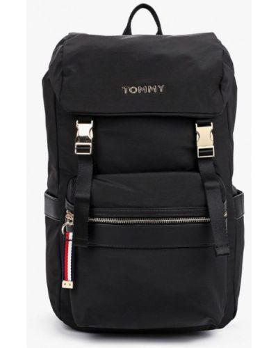 Нейлоновый городской черный рюкзак Tommy Hilfiger