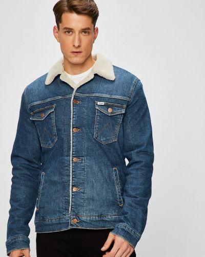 Джинсовая куртка утепленная укороченная Wrangler