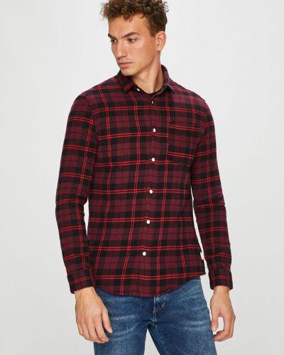 Рубашка с длинным рукавом в клетку хлопковая Review