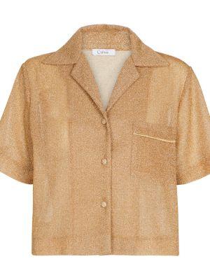 Złota koszula Osã©ree