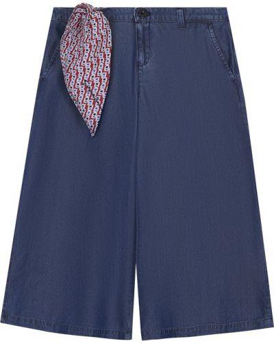 Расклешенные джинсы синие Armani Junior